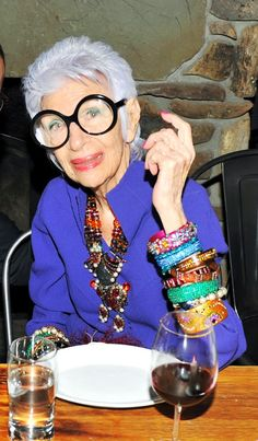 Julers Row: One Kings Lane: Iris Apfel - A Journey in Style