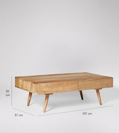 Watts Natural Mango Wood Coffee Table | Swoon