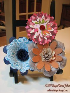 Hey everyone. I had such a tremendous response to the card I posted on the Cricut messageboard with a flower I made using Flower Shoppe tha...