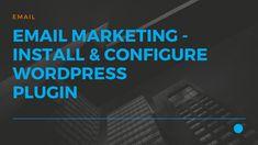 JustITHosting - Install and Configure WordPress Newsletter plugin Wordpress Plugins, Virtual Private Server, Email Marketing, Website, Blog, Blogging