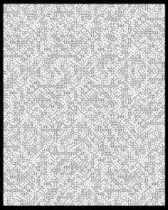"Eric William Carroll, Pattern Recognition #0032, 40"" x 32"" Unique Pigment Print, 2015."
