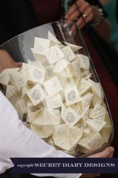 Wedding favour boxes | Hand made wedding invitations
