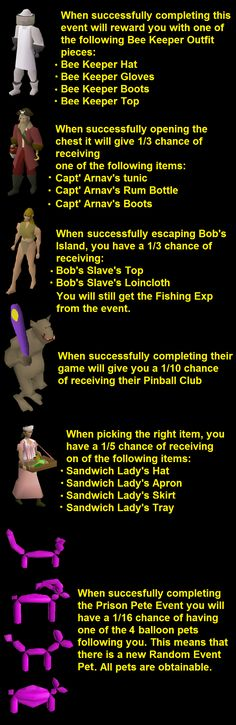 Update the Random Events so they are worth doing fun and not dead content anymore.