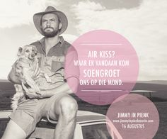 Jimmy in Pienk. An Afrikaans comedy starting 16 August.