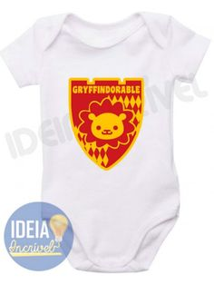 Body Infantil Gryffindorable (Harry Potter)