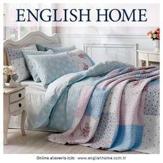 Sizi rüyada hissettirecek yatak örtüleri ve nevresimler Buyaka English Home'da!