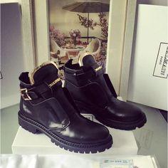 Ботинки Balmain King Smooth зима