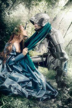 The Knight and His Lady via ModelMayhem