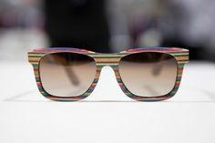 Diamond Supply Co Recycled Skate Deck Sunglasses | Acclaim