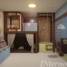 Boys bedrooms furniture can also be fun! Discover more ideas and inspirations with Circu Magical furniture. Cool Kids Bedrooms, Awesome Bedrooms, Cool Rooms For Kids, Play Room For Kids, Bedroom For Kids, Kid Bedrooms, Indoor Playroom, Kids Basement, Unfinished Basement Playroom