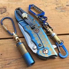 Folding Knife Mod / ZT-0562-CF / Wes Design por EdcApparatus