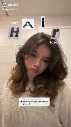 Hair Tips Video, Hair Videos, Baddie Hairstyles, Cute Hairstyles, Everyday Hairstyles, Formal Hairstyles, Hair Inspo, Hair Inspiration, Medium Hair Styles