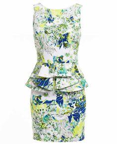 Zelda Floral Dress - Bardot