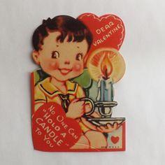 Image result for GOLF + VINTAGE VALENTINE CARD