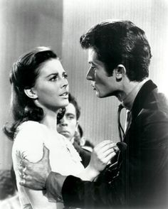 "George with Natalie Wood in ""West Side Story"""
