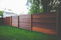 How to build a horizonal ipe fence |