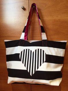 99476091 Vamos a la playa oh oh oh Diy Handbag, Jute Bags, Leather Bags Handmade, Denim Bag, Fabric Bags, Shopper, Cotton Bag, Knitted Bags, Cloth Bags