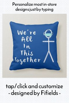 Ad: We're all in this together positive message cushion #we're #all #in #this #together, #positive, #quote, #empowerment, #nhs, #gift, #pandemic Your Design, Custom Design, Accent Pillows, Throw Pillows, Positive Messages, Store Design, Custom Pillows, Envy, The Neighbourhood