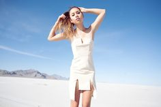 fashiontoast   08/13/2012 a growing absence in space Ellery Lovebug dress, Phillip Lim Cody heels.