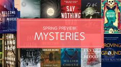 Sherlock Holmes, Satanic Cults, and H. P. Lovecraft: Spring 2017 Mysteries and Thrillers   Bookish