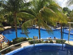 View from our room at El Dorado Maroma in Riviera Maya, MX. Ask us about it.  www.facebook.com/thesource4travel
