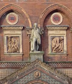 The Wedgwood Institute in Burslem. The Victorian Society has listed it as one of the 10 most endangered buildings in England and Wales. Stoke City, Amazing Buildings, Stoke On Trent, Coal Mining, Architecture Old, British History, Wedgwood, Home And Away, Historical Photos