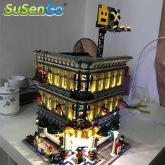 SuSenGo LED Light Kit for Grand Emporium Model Building Blocks Toys Light Compatible with Famous Brand 10211