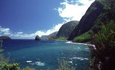 Molakai.  http://www.cntraveler.com/galleries/2014-10-12/why-molokai-should-be-the-next-hawaiian-island-you-visit/5