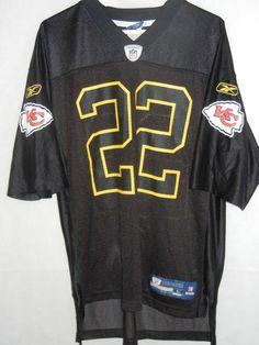 VTG Dexter McCluster Kansas City Chiefs men's L black jersey Reebok  #Reebok #KansasCityChiefs