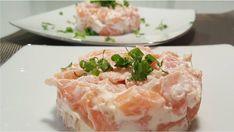 Receita de tartar de salmão