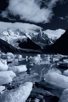 Castle of Ice - Los Glaciares National Park, Patagonia, Argentina