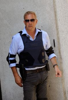 Director/actor Kevin Costner on location for 'Jack Ryan' on September 1 2012 in New York City