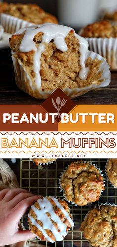 These Peanut Butter Banana Muffins are healthy enough for quick morning breakfast! The best part about this Mother's day brunch food idea is that there is a ton of flavor even if they're vegan and sugar-free. What a win! Pin this yummy food for breakfast! Brunch Recipes, Breakfast Recipes, Brunch Food, Breakfast Ideas, Peanut Butter Muffins, Peanut Butter Recipes, I Am Baker, Morning Breakfast, Sweet Bread