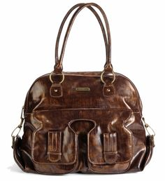Marilyn Diaper Bag - Brown timi obsessed with this bag!!