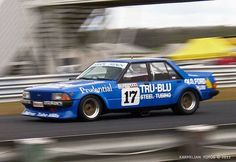 Dick Johnson Tru-Blu Falcon Australian Muscle Cars, Aussie Muscle Cars, Motor Sport, Sport Cars, V8 Supercars, Car Racer, Ford Falcon, Drag Cars, Ford Gt