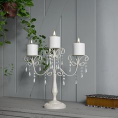 Glass Candelabra, Glass Votive, Glass Candlesticks, Glass Candle Holders, Candle Sconces, Shabby Chic Picture Frames, Wooden Lanterns, Centerpiece Decorations, Flower Centerpieces