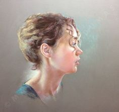 Marie Octobre Pastel Portraits, Marie, Traditional, Woman, Digital, Fictional Characters, Color, October, Colour