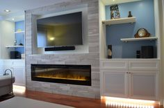 Entertainment wall unit with fireplace wall units fireplace wall unit wisdom stylish fireplaces with regard to . entertainment wall unit with fireplace Wall Units With Fireplace, Linear Fireplace, Home Fireplace, Fireplace Design, Modern Fireplace, Basement Fireplace, Custom Fireplace, Fireplace Ideas, Foyer Mural