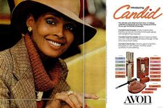 Model Barbara Summers in a 1970s advertisement for Avon. A novelist andfashion historian, she is the author of Black and Beautiful: How Women of Color Changed The Fashion Industry.