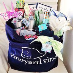 Vineyard Vines gift bag