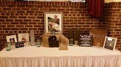 Welcome table - wedding - Chandelier Ballroom