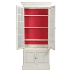 "Villa Bookcase, Cirrus/Geranium Collection: Collector's ClassicsDimension:39.5""w x 17""d x 86.5""hItem# 139357750C10 $2,199.00 $1,934.00. Ethan Allen US."