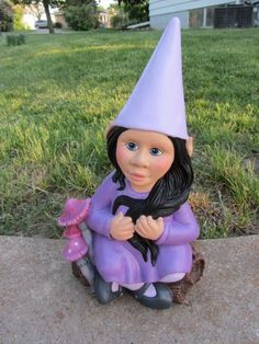I Finally Found A Mold For A Girl Gnome! Yea!! I Think That