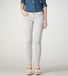 adorable grey jeggings. perfect for summer - and fall with boots $44.50