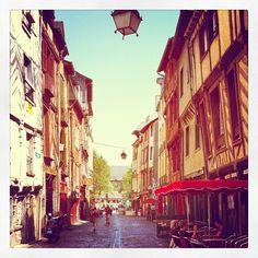 Rue Saint Michel, Paris, France. Our favorite street in Paris! Lots of cheap crepes :-)