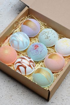 Bath Bomb Gift Box Idea For Mother's Day