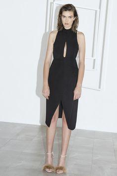 FALL BACK DRESS black
