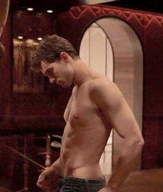 @lilyslibrary OMG #hotinhere #ChristianGrey Jamie Dornan Fifty shades of grey movie red room