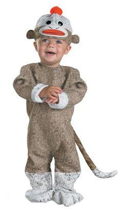 Infant Halloween Costume $20http://www.amazon.com/Disguise-1769W-Sock-Monkey/dp/B001GG4CGU/ref=sr_1_8?ie=UTF8=1317173942=8-8