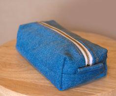 Upcycled Denim Multipurpose travel bag Recycled by HandMadejesty